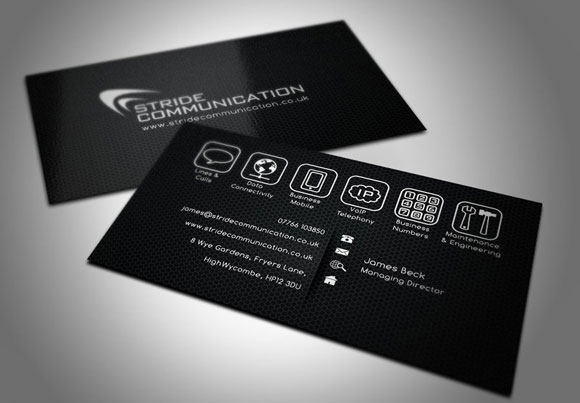 advertisements - Fancy Business Cards