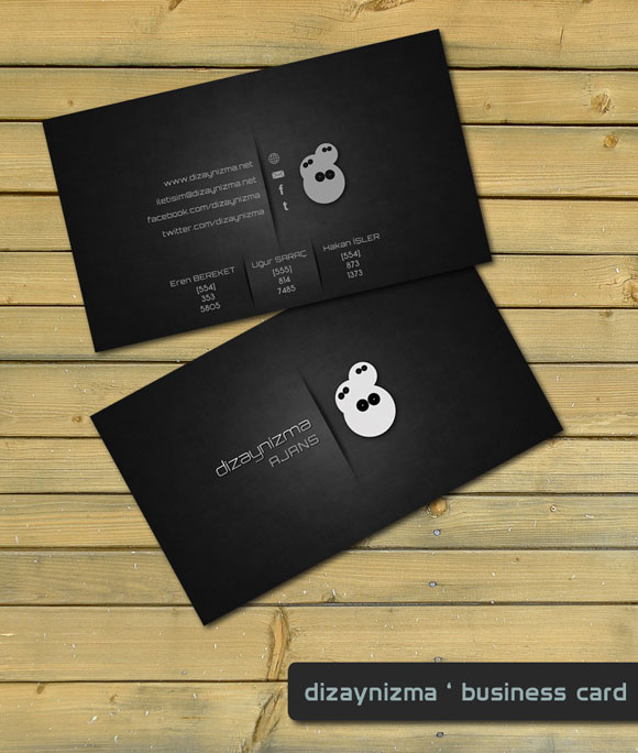 The cool kids of business cards – Steamboat Friday
