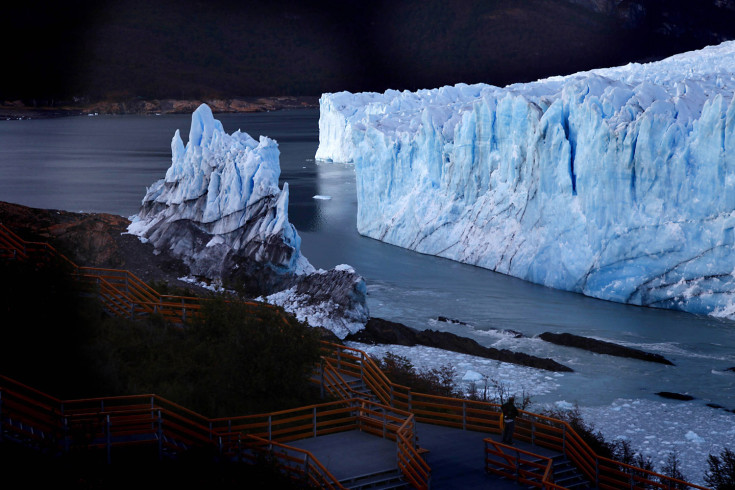 March 4, 2012. The Perito Moreno glacier is seen after the rupture of a massive ice wall near the city of El Calafate in the Patagonian province of Santa Cruz, southern Argentina